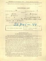 Popis prebivalstva 31. 3. 1931<br />Ljubljana<br />Koseskega ulica 24<br />Population census 31 March 1931
