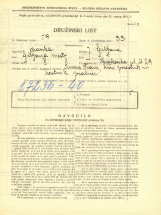 Popis prebivalstva 31. 3. 1931<br />Ljubljana<br />Krakovska ulica 29<br />Population census 31 March 1931