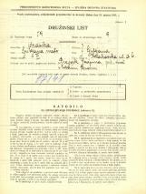 Popis prebivalstva 31. 3. 1931<br />Ljubljana<br />Krakovska ulica 6<br />Population census 31 March 1931