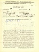 Popis prebivalstva 31. 3. 1931<br />Ljubljana<br />Krakovska ulica 7<br />Population census 31 March 1931