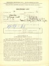 Popis prebivalstva 31. 3. 1931<br />Ljubljana<br />Krakovska ulica 9<br />Population census 31 March 1931