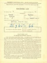 Popis prebivalstva 31. 3. 1931<br />Ljubljana<br />Krakovski nasip 10<br />Population census 31 March 1931