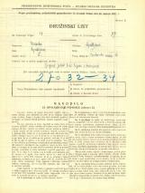 Popis prebivalstva 31. 3. 1931<br />Ljubljana<br />Krakovski nasip 16<br />Population census 31 March 1931