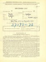 Popis prebivalstva 31. 3. 1931<br />Ljubljana<br />Krakovski nasip 22<br />Population census 31 March 1931