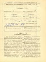 Popis prebivalstva 31. 3. 1931<br />Ljubljana<br />Krekov trg 1<br />Population census 31 March 1931