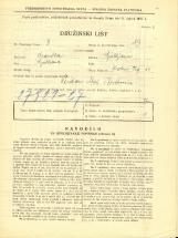 Popis prebivalstva 31. 3. 1931<br />Ljubljana<br />Krekov trg 11<br />Population census 31 March 1931