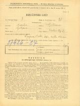 Popis prebivalstva 31. 3. 1931<br />Ljubljana<br />Krekov trg 2<br />Population census 31 March 1931
