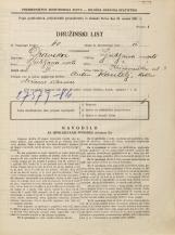 Popis prebivalstva 31. 3. 1931<br />Ljubljana<br />Križevniška ulica 3<br />Population census 31 March 1931