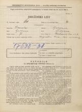 Popis prebivalstva 31. 3. 1931<br />Ljubljana<br />Križevniška ulica 6<br />Population census 31 March 1931