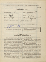 Popis prebivalstva 31. 3. 1931<br />Ljubljana<br />Krojaška ulica 8<br />Population census 31 March 1931
