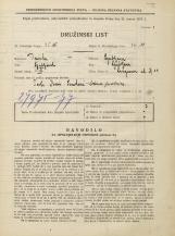 Popis prebivalstva 31. 3. 1931<br />Ljubljana<br />Langusova ulica 11<br />Population census 31 March 1931