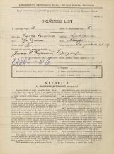 Popis prebivalstva 31. 3. 1931<br />Ljubljana<br />Langusova ulica 19<br />Population census 31 March 1931