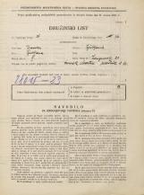 Popis prebivalstva 31. 3. 1931<br />Ljubljana<br />Langusova ulica 21<br />Population census 31 March 1931
