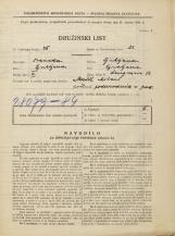 Popis prebivalstva 31. 3. 1931<br />Ljubljana<br />Langusova ulica 32<br />Population census 31 March 1931