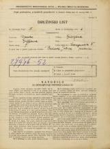 Popis prebivalstva 31. 3. 1931<br />Ljubljana<br />Langusova ulica 5<br />Population census 31 March 1931