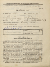 Popis prebivalstva 31. 3. 1931<br />Ljubljana<br />Lepodvorska ulica 21<br />Population census 31 March 1931