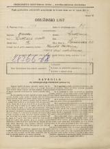 Popis prebivalstva 31. 3. 1931<br />Ljubljana<br />Lepodvorska ulica 22<br />Population census 31 March 1931