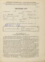 Popis prebivalstva 31. 3. 1931<br />Ljubljana<br />Lepodvorska ulica 23<br />Population census 31 March 1931