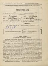 Popis prebivalstva 31. 3. 1931<br />Ljubljana<br />Lepodvorska ulica 30<br />Population census 31 March 1931