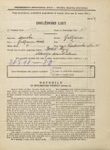 Popis prebivalstva 31. 3. 1931<br />Ljubljana<br />Lepodvorska ulica 35<br />Population census 31 March 1931