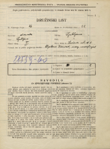 Popis prebivalstva 31. 3. 1931<br />Ljubljana<br />Levčeva ulica 8<br />Population census 31 March 1931