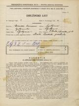 Popis prebivalstva 31. 3. 1931<br />Ljubljana<br />Mala čolnarska ulica 15<br />Population census 31 March 1931