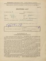 Popis prebivalstva 31. 3. 1931<br />Ljubljana<br />Mala čolnarska ulica 6<br />Population census 31 March 1931
