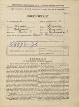 Popis prebivalstva 31. 3. 1931<br />Ljubljana<br />Mala čolnarska ulica 8<br />Population census 31 March 1931