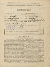 Popis prebivalstva 31. 3. 1931<br />Ljubljana<br />Mala čolnarska ulica 9<br />Population census 31 March 1931