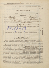 Popis prebivalstva 31. 3. 1931<br />Ljubljana<br />Malgajeva ulica 15<br />Population census 31 March 1931
