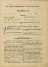 Popis prebivalstva 31. 3. 1931<br />Ljubljana<br />Malgajeva ulica 5<br />Population census 31 March 1931