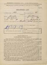 Popis prebivalstva 31. 3. 1931<br />Ljubljana<br />Malgajeva ulica 9<br />Population census 31 March 1931