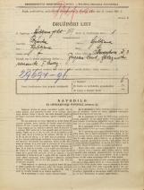 Popis prebivalstva 31. 3. 1931<br />Ljubljana<br />Masarykova cesta 3<br />Population census 31 March 1931