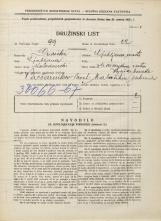 Popis prebivalstva 31. 3. 1931<br />Ljubljana<br />Masarykova cesta NN4<br />Population census 31 March 1931