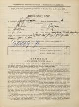 Popis prebivalstva 31. 3. 1931<br />Ljubljana<br />Masarykova cesta NN6<br />Population census 31 March 1931