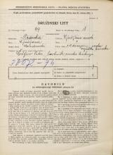 Popis prebivalstva 31. 3. 1931<br />Ljubljana<br />Masarykova cesta NN7<br />Population census 31 March 1931