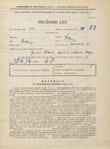 Popis prebivalstva 31. 3. 1931<br />Ljubljana<br />Medvedova cesta 17<br />Population census 31 March 1931
