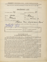 Popis prebivalstva 31. 3. 1931<br />Ljubljana<br />Medvedova cesta 18<br />Population census 31 March 1931