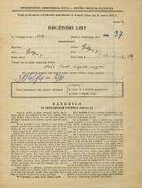 Popis prebivalstva 31. 3. 1931<br />Ljubljana<br />Medvedova cesta 19<br />Population census 31 March 1931