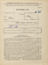 Popis prebivalstva 31. 3. 1931<br />Ljubljana<br />Medvedova cesta 25<br />Population census 31 March 1931