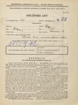 Popis prebivalstva 31. 3. 1931<br />Ljubljana<br />Medvedova cesta 28<br />Population census 31 March 1931