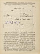 Popis prebivalstva 31. 3. 1931<br />Ljubljana<br />Medvedova cesta 36<br />Population census 31 March 1931
