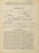 Popis prebivalstva 31. 3. 1931<br />Ljubljana<br />Medvedova cesta 4<br />Population census 31 March 1931