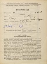 Popis prebivalstva 31. 3. 1931<br />Ljubljana<br />Medvedova cesta 7<br />Population census 31 March 1931