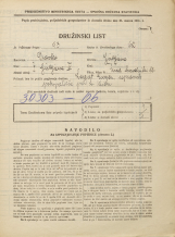 Popis prebivalstva 31. 3. 1931<br />Ljubljana<br />Med hmeljniki 11<br />Population census 31 March 1931