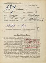 Popis prebivalstva 31. 3. 1931<br />Ljubljana<br />Med hmeljniki 16<br />Population census 31 March 1931