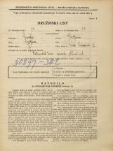 Popis prebivalstva 31. 3. 1931<br />Ljubljana<br />Med hmeljniki 2<br />Population census 31 March 1931
