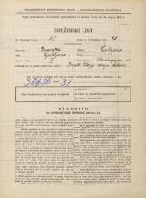 Popis prebivalstva 31. 3. 1931<br />Ljubljana<br />Mencingerjeva ulica 11<br />Population census 31 March 1931