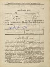 Popis prebivalstva 31. 3. 1931<br />Ljubljana<br />Mencingerjeva ulica 15<br />Population census 31 March 1931