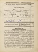 Popis prebivalstva 31. 3. 1931<br />Ljubljana<br />Mencingerjeva ulica 17<br />Population census 31 March 1931